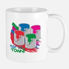 Paint The Town! Mugs