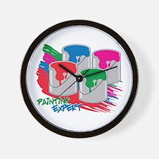 Painting Expert Wall Clock