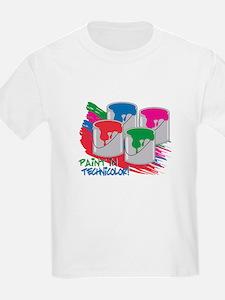 Paint In Technicolor! T-Shirt
