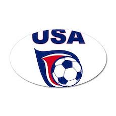 USA soccer Wall Decal