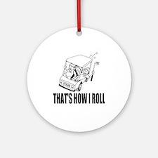 Funny Golf Quote Ornament (Round)