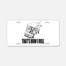 Funny Golf Quote Aluminum License Plate