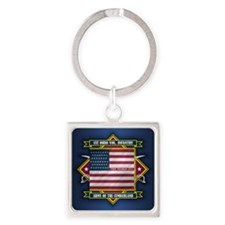 1st Ohio Volunteer Infantry (Diamond).png Keychain