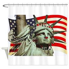 Liberty U.s.a. Shower Curtain