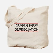 Depreciation Account Tote Bag