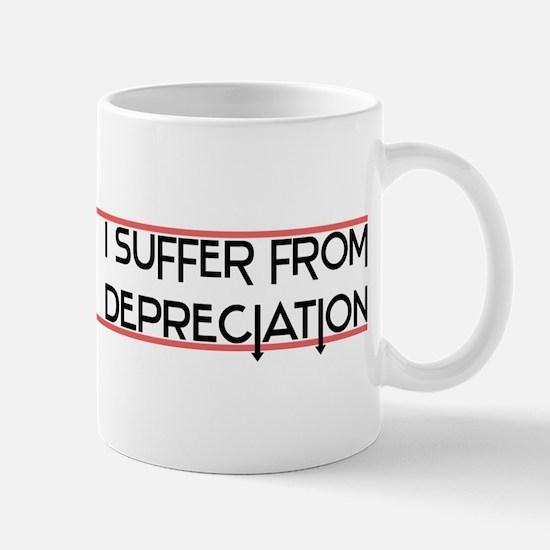 Depreciation Account Mug