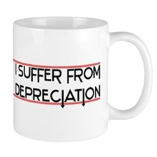 Depreciation Account Small Mug