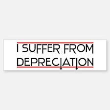 Depreciation Account Bumper Bumper Bumper Sticker