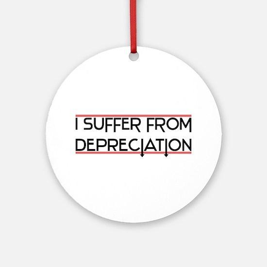 Depreciation Account Ornament (Round)