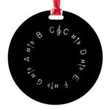 Chromatic Pitch Pipe Ornament