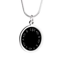 Chromatic Pitch Pipe Necklaces