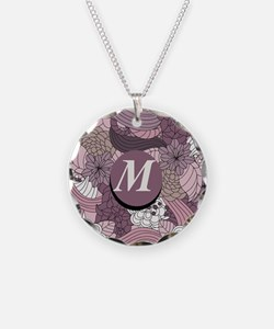 Monogram M Necklace