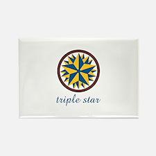 Triple Star Magnets