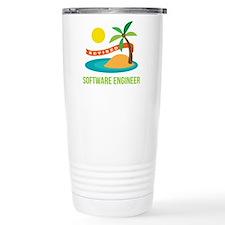 Retired Software engine Travel Mug