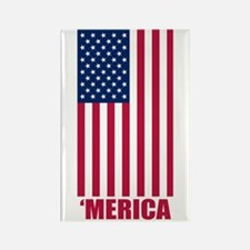 Merica American Flag Magnets