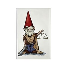 Justice Gnome Rectangle Magnet