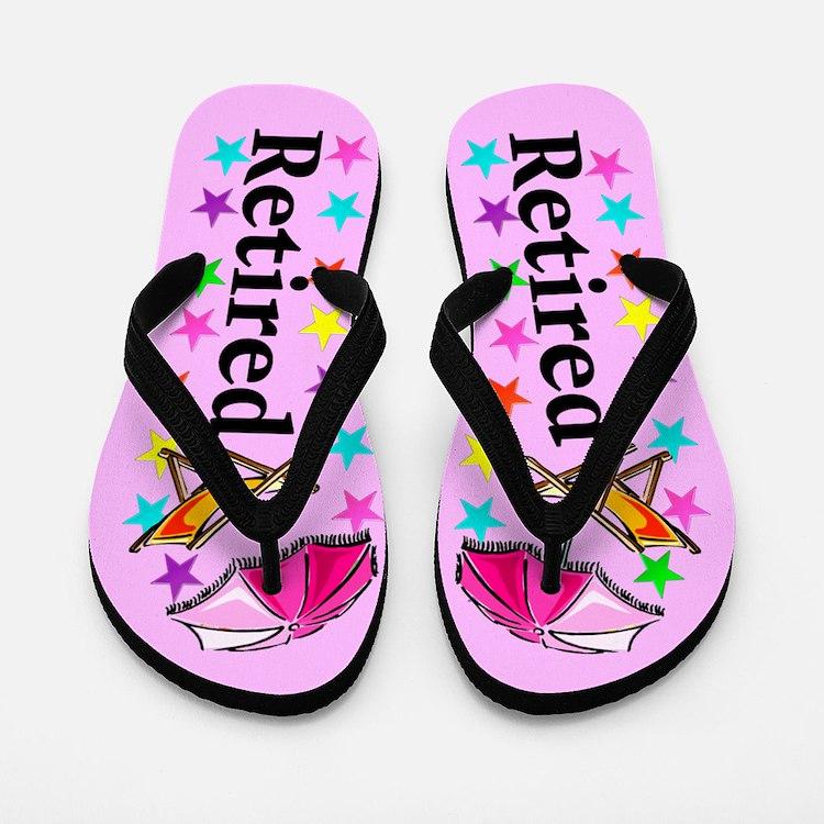 Beach Retiree Flip Flops
