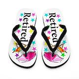 Beach retirement Flip Flops
