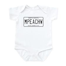 North Dakota MPEACHW Infant Bodysuit