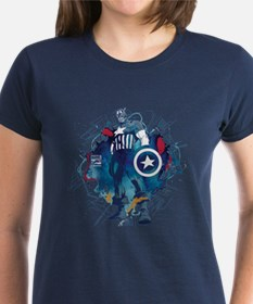 Captain America Pose Tee