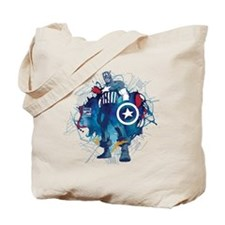 Captain America Pose Tote Bag