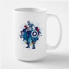 Captain America Pose Mug