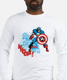 Captain America: Whoomp Long Sleeve T-Shirt