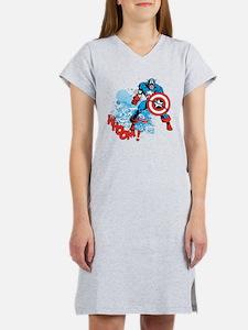 Captain America: Whoomp Women's Nightshirt