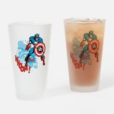 Captain America: Whoomp Drinking Glass