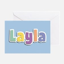 Layla Spring14 Greeting Card