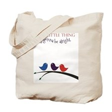 3 Little Birds Tote Bag