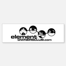 EOC Bumper Car Car Sticker