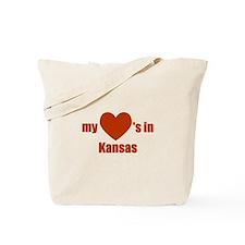 Homesick for Kansas Tote Bag