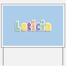 Leticia Spring14 Yard Sign