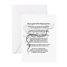 """Dogwood Tree Legend"" Greeting Cards (Pk of 10)"