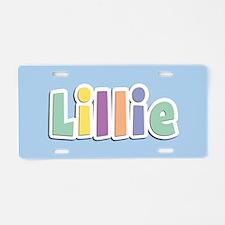 Lillie Spring14 Aluminum License Plate