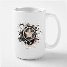 Captain America Star Large Mug