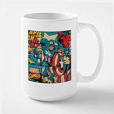 Captain America Collage Mug