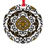 Eleonora di Toledo's dress Round Ornament