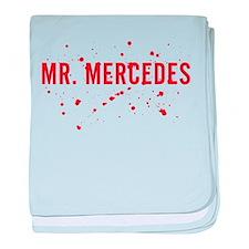 Mr. Mercedes Logo baby blanket