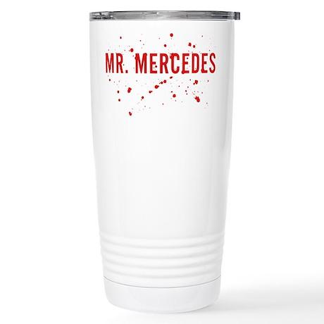 Mr. Mercedes Logo Travel Mug