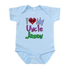 I LOVE MY UNCLE JASON Infant Bodysuit