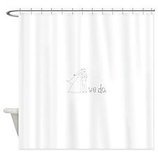 We Do Shower Curtain