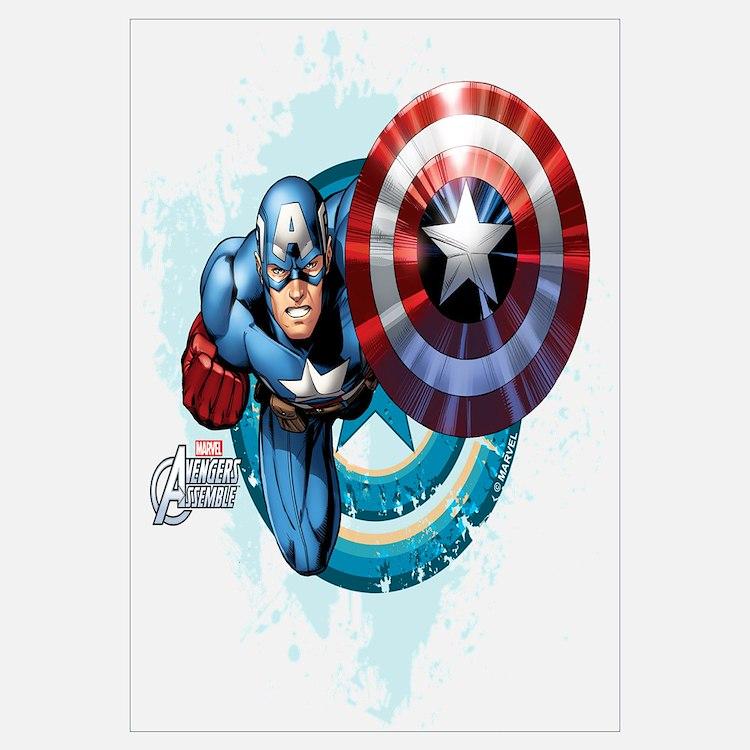 Marvel 39 S Captain America Wall Art Marvel 39 S Captain