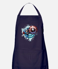 Captain America Flying Apron (dark)