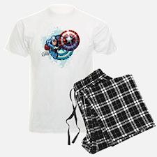 Captain America Flying Pajamas