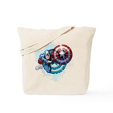Captain America Flying Tote Bag