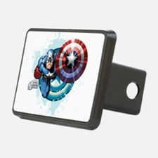 Captain America Flying Hitch Cover