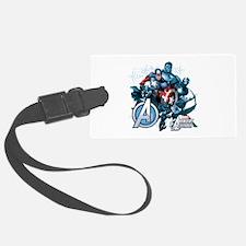 Captain America Avenger Luggage Tag