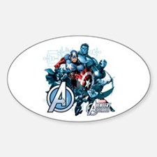 Captain America Avenger Decal